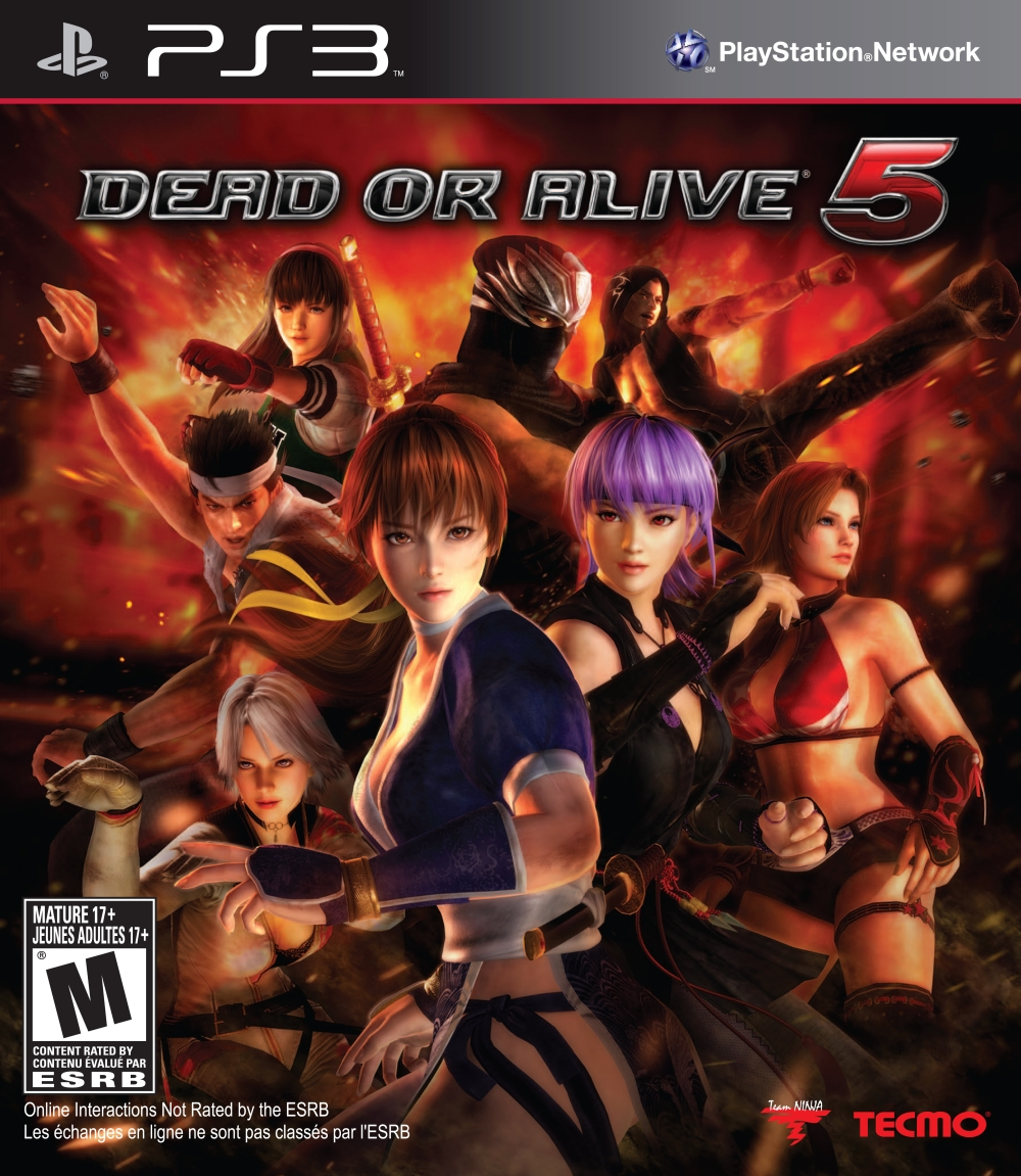 Игра Dead Or Alive 5 для PlayStation