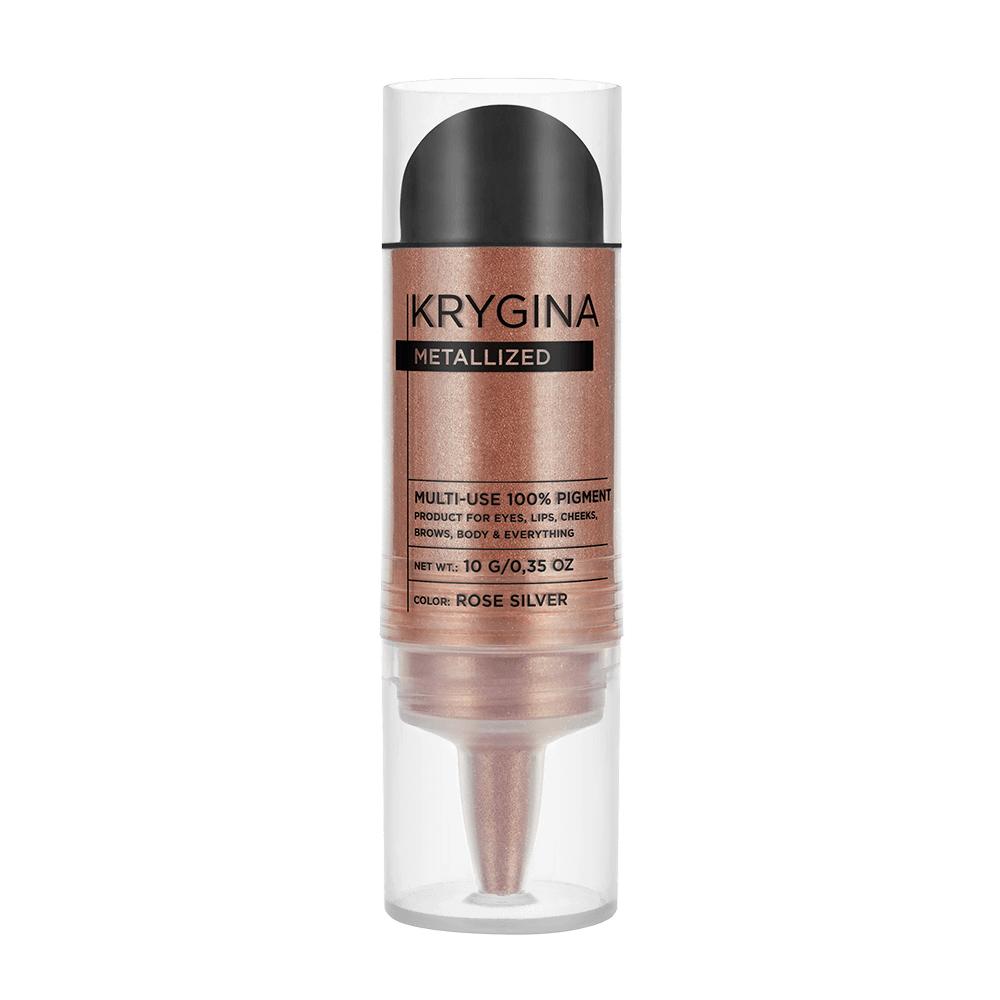 Сухой пигмент Krygina Cosmetics Metallized Rose Silver