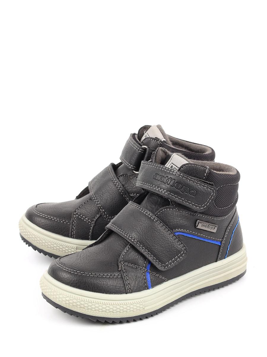 Ботинки для мальчиков Antilopa AL 202147 цв. черный р. 29 Antilopa   фото