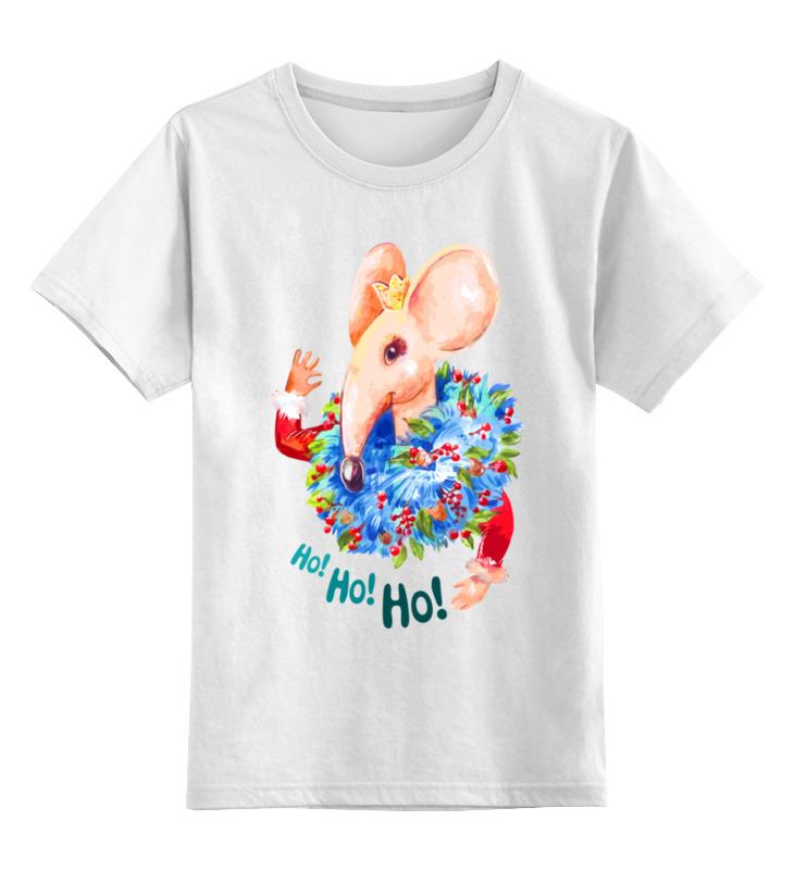 Детская футболка Printio Мышонок цв.белый р.152 0000003062611 по цене 790