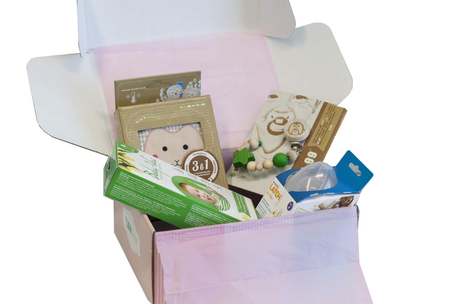 Купить Набор товаров для девочки от 0-3 лет Kids-Box Standart New, 19401-4, Baby-Vac, Аспираторы