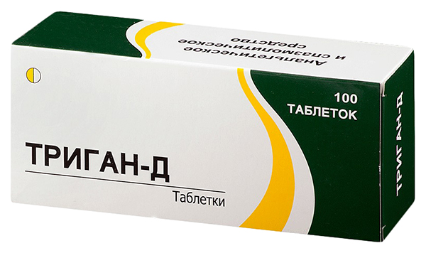 Триган Д таблетки 100 шт.