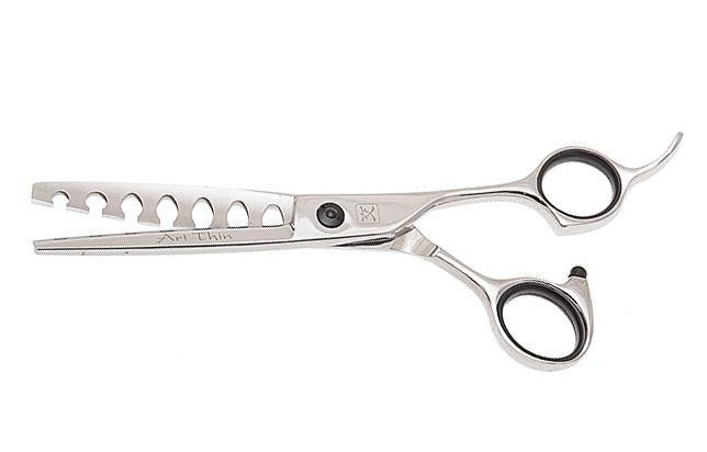 Ножницы парикмахерские Katachi K3467 Art Thin филировочные 7 зубцов, 6.0