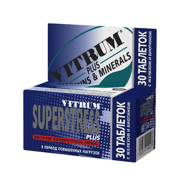 Витрум Суперстресс Плюс таблетки, покрытые пленочной оболочкой