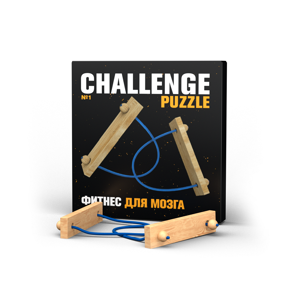 Головоломка IQ Puzzle Challenging Puzzle №1 фото
