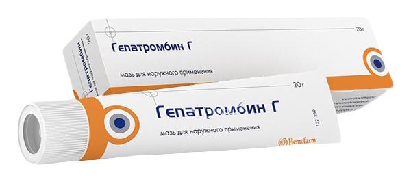 Купить Гепатромбин Г мазь для наружн.и рект.прим.20 г, Hemofarm