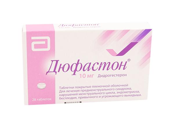 Дюфастон таблетки, покрытые пленочной оболочкой 10 мг №28