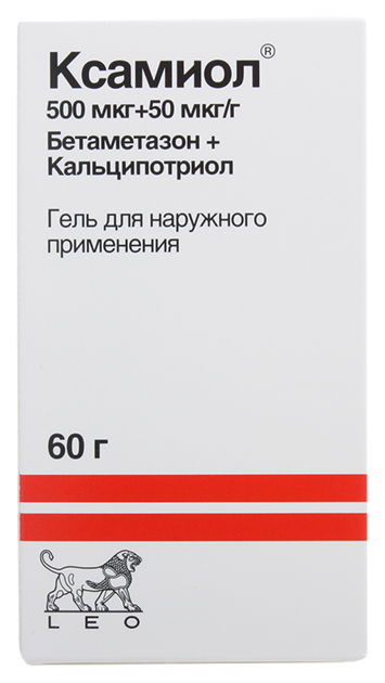 Ксамиол гель наруж. флакон 60 г