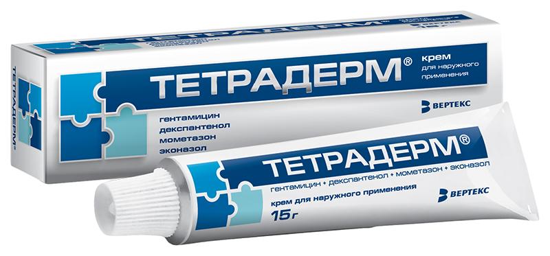Тетрадерм крем для наруж.прим.15 г