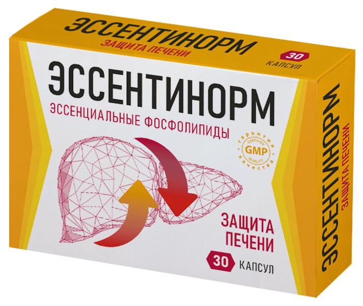 Эссентинорм Эссенциальные фосфолипиды 300 мг капсулы №30