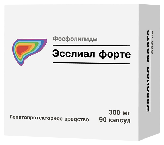 Эсслиал форте капсулы 300 мг №90