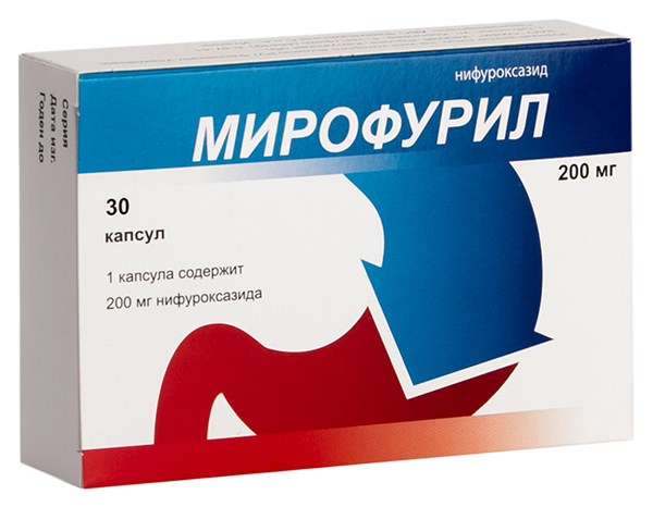 Мирофурил капсулы 200 мг №30