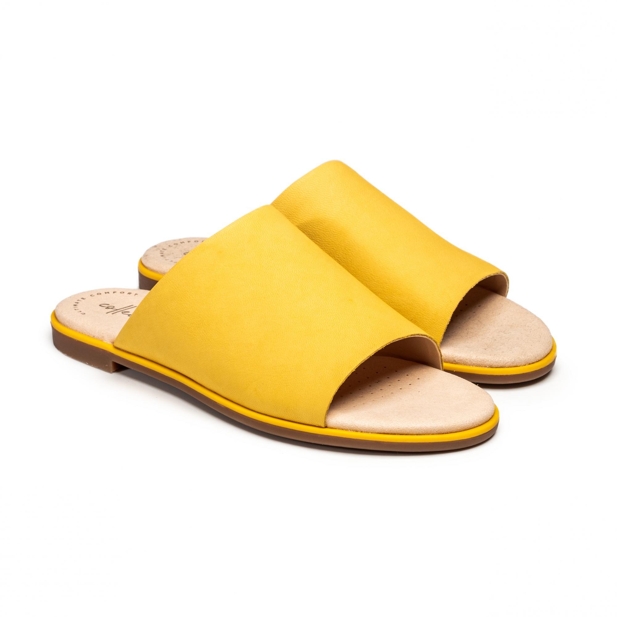Сабо женские Clarks Bay Petal желтые 37 EU