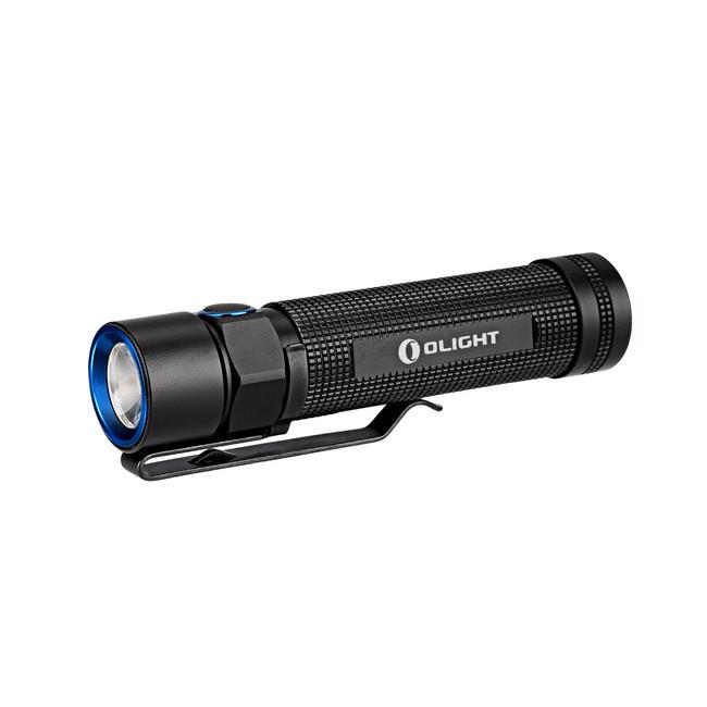 Туристический фонарь Olight S2 Baton, черный, 6 режимов