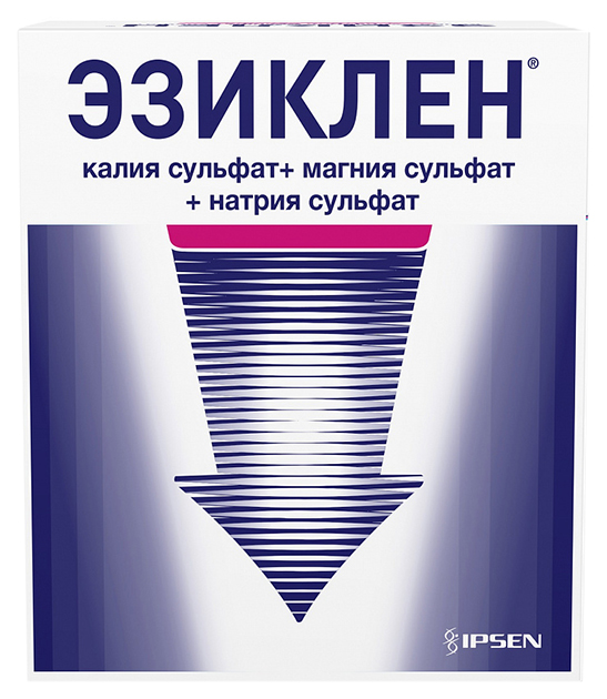 Купить Эзиклен конц. для пригот. раствора для приема внутрь флакон 176 мл №2, Beaufour Ipsen Pharma
