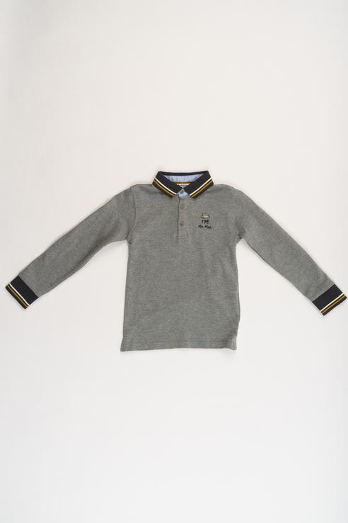 Купить 183MDFL002, Джемпер для мальчика MEK, цв.серый, р-р 92, Кофточки, футболки для новорожденных