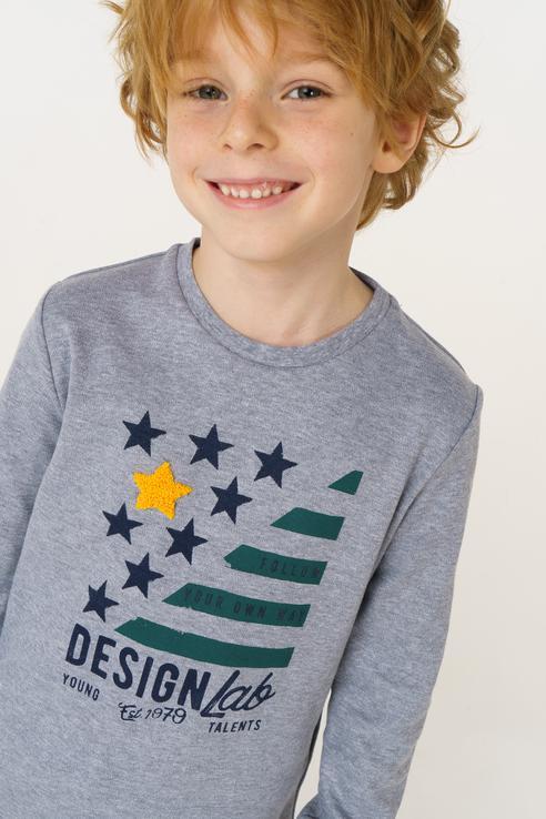 Купить 0.V122.00, Джемпер для мальчика Sarabanda, цв.серый, р-р 92, Кофточки, футболки для новорожденных