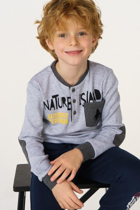 Купить 0.V140.00, Джемпер для мальчика Sarabanda, цв.серый, р-р 92, Кофточки, футболки для новорожденных