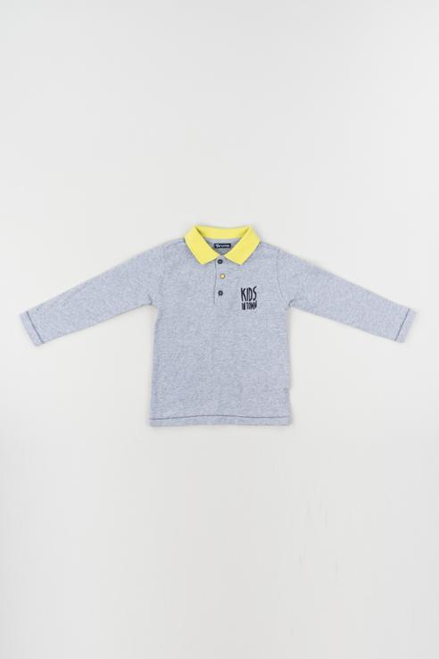 Купить 183BDFL010, Джемпер для мальчика Brums, цв.серый, р-р 74, Кофточки, футболки для новорожденных