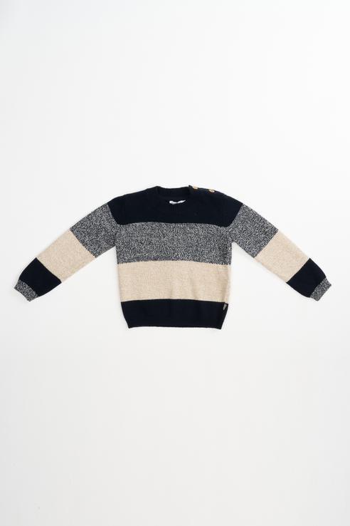 Купить 21834BBC3101, Джемпер для мальчика Gulliver, цв.синий, р-р 74, Кофточки, футболки для новорожденных