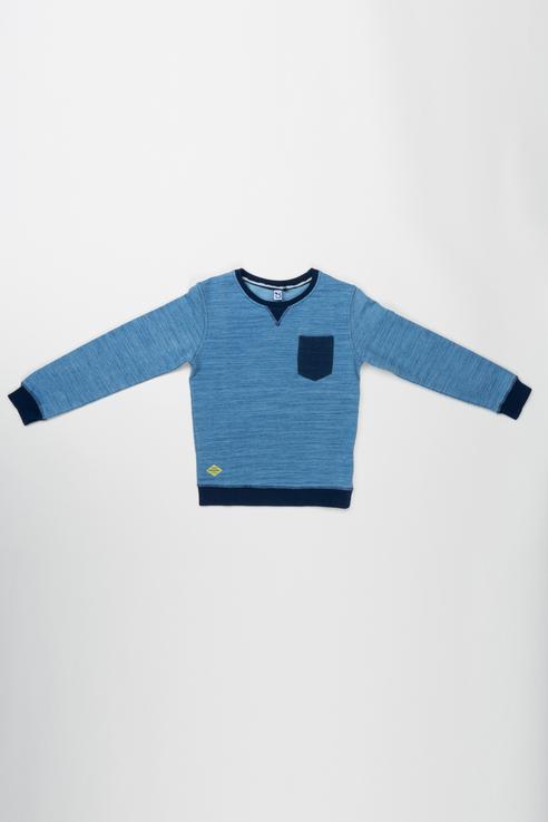 Купить 3M15015, Джемпер для мальчика 3pommes, цв.синий, р-р 80, Кофточки, футболки для новорожденных