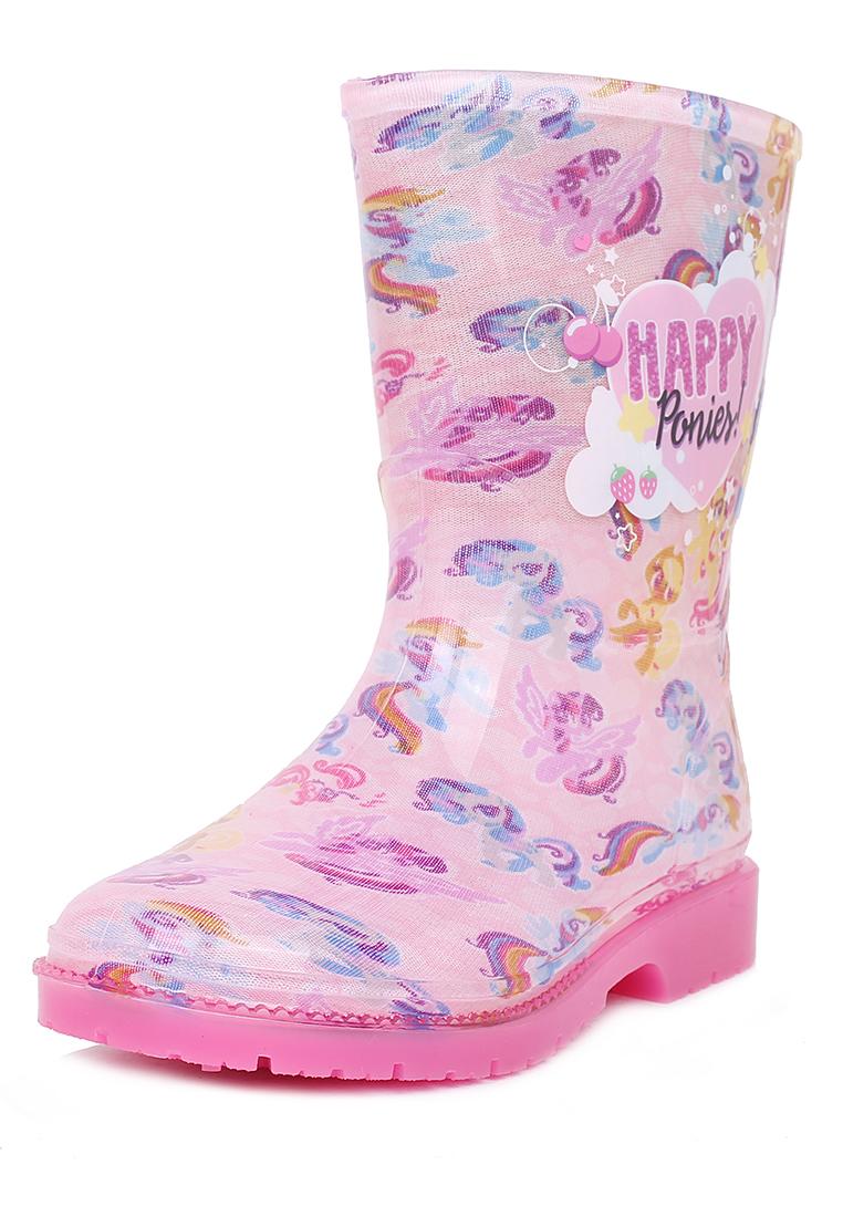 Купить FL19SS-52, Резиновые сапоги детские My little Pony, цв.розовый р.26,