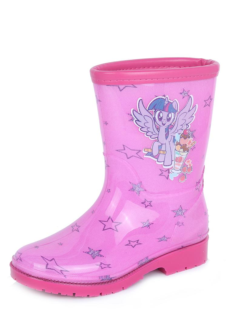 Купить FL19AW-47, Резиновые сапоги детские My little Pony, цв.розовый р.26,