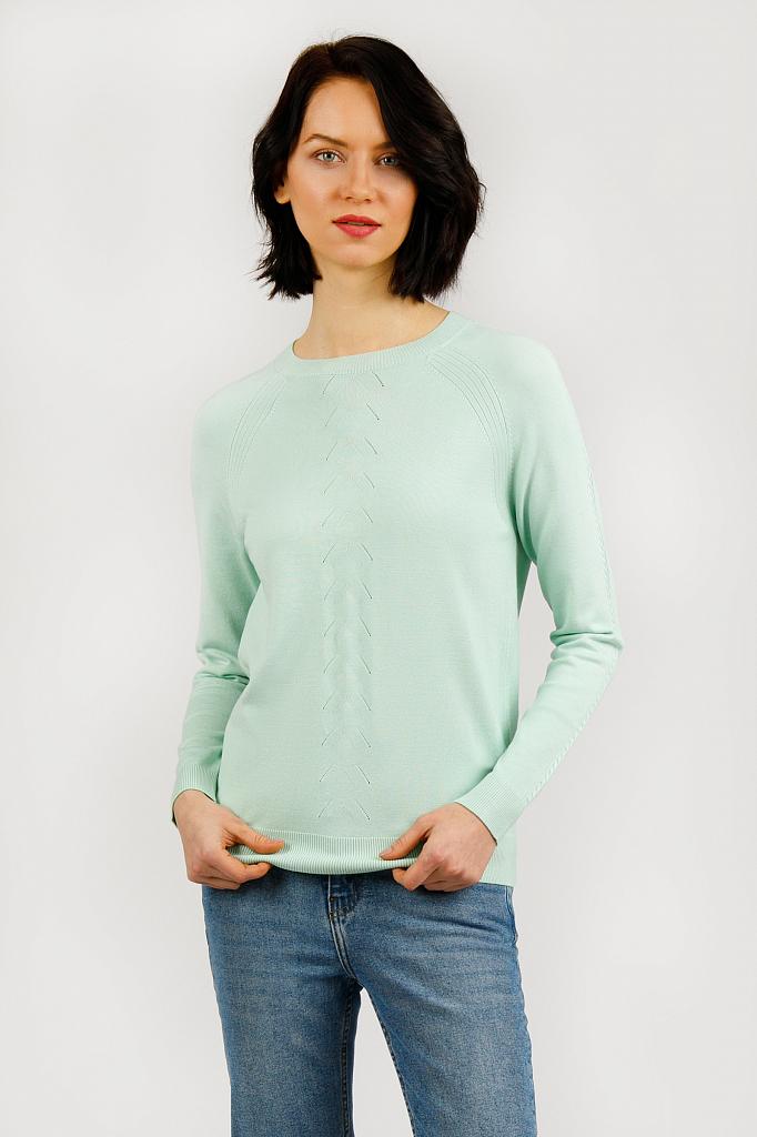 Джемпер женский Finn-Flare B20-11123 зеленый XL фото