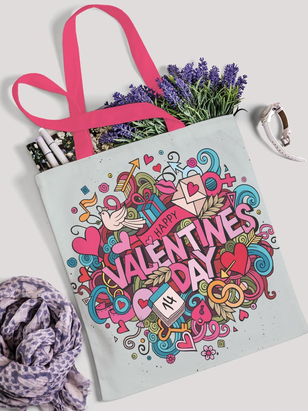 Сумка женская JoyArty День Святого Валентина фото