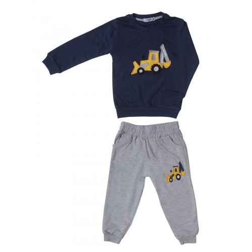 Купить 2383-01, Комплект для мальчиков Ciggo, цв. синий, р-р 92, Детские костюмы