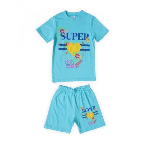 Костюм детский Веселый Супер Слоненок, цв. голубой