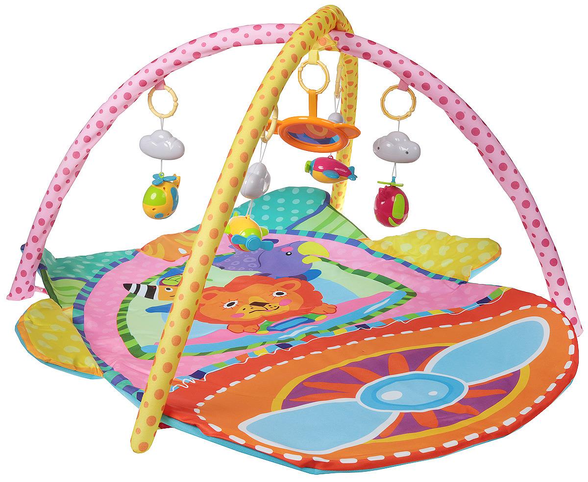 Детский развивающий коврик с дугами Ути пути