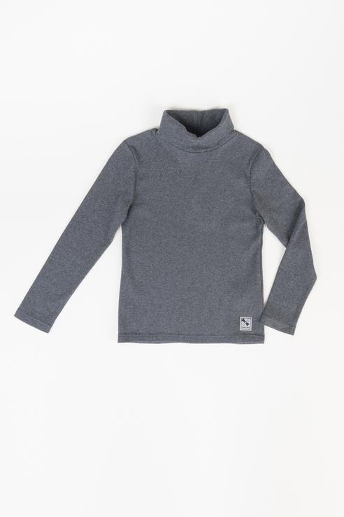 Купить 219BBBC18012300, Водолазка для мальчика Button Blue, цв.серый, р-р 146, Водолазки для мальчиков
