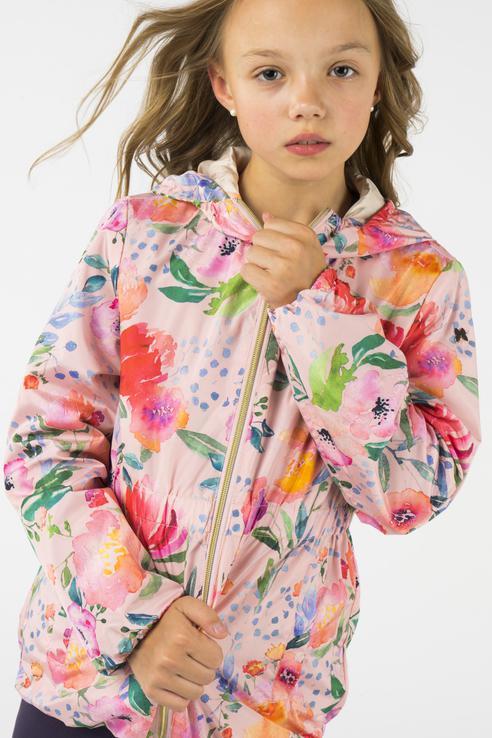 Ветровка для девочки BAON, цв.розовый, р-р 146 BJ108001