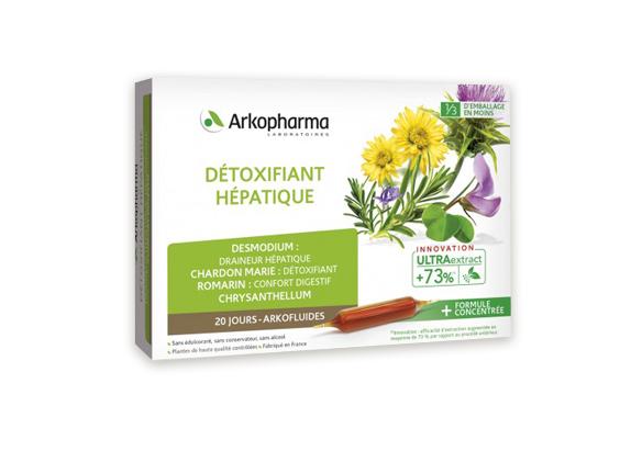 Детоксифьян Хепатик Arkopharma Очиститель печени 10