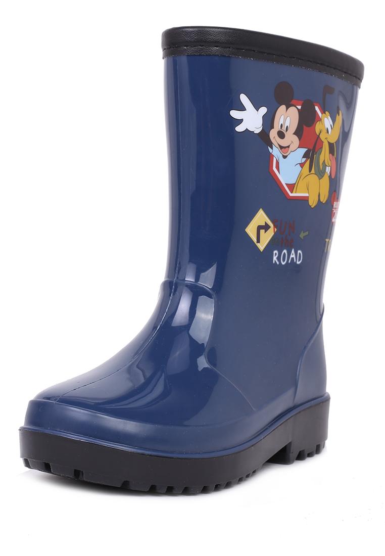 FL19SS-45, Резиновые сапоги детские Mickey Mouse, цв.синий р.23,  - купить со скидкой