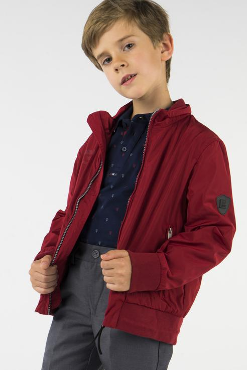 Ветровка для мальчика BAON, цв.красный, р-р 122