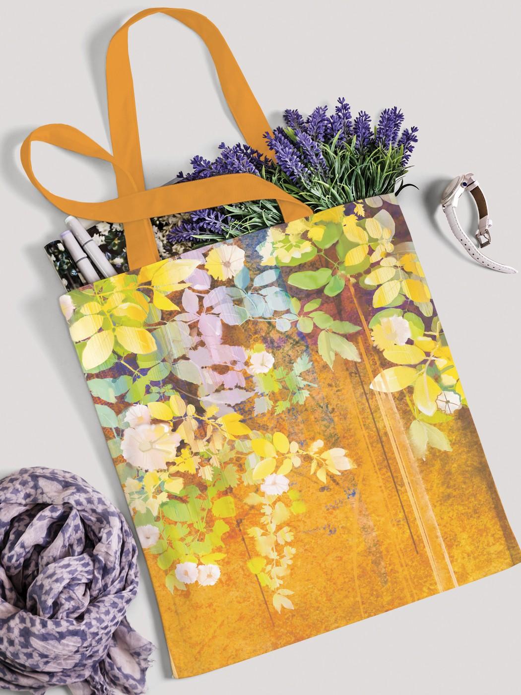 Сумка женская JoyArty Висячие цветы фото