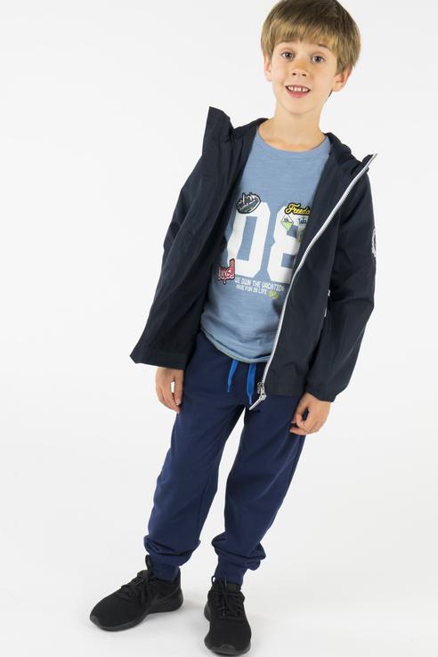 Ветровка для мальчика BAON, цв.синий, р-р 110