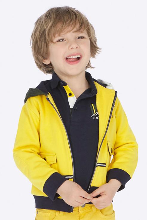 Ветровка для мальчика Mayoral, цв.желтый, р