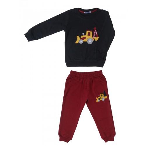 Купить 2381-01, Комплект для мальчиков Ciggo, цв. черный, р-р 86, Детские костюмы