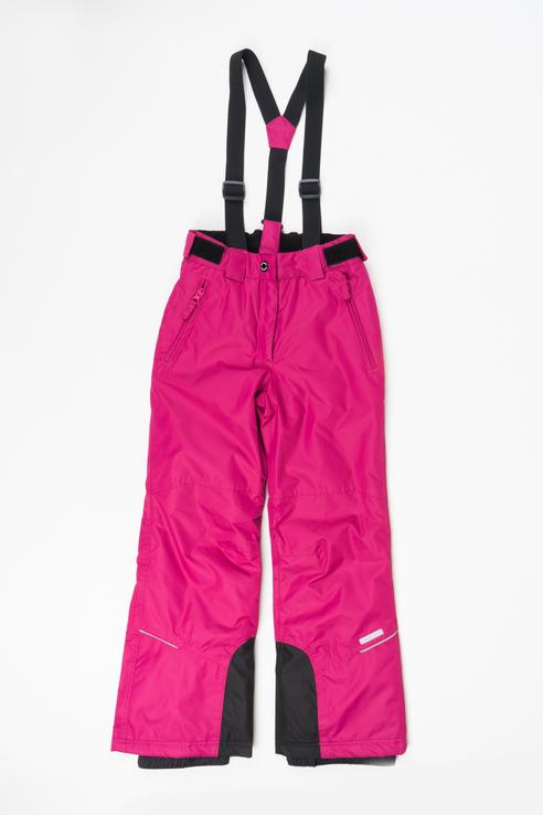 Купить 451005564IV, Брюки утепленные для девочки Icepeak, цв.бордовый, р-р 140, Полукомбинезоны и брюки для девочек