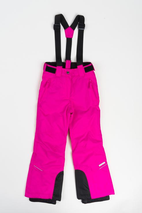 Купить 451005564IV, Брюки утепленные для девочки Icepeak, цв.розовый, р-р 128, Полукомбинезоны и брюки для девочек