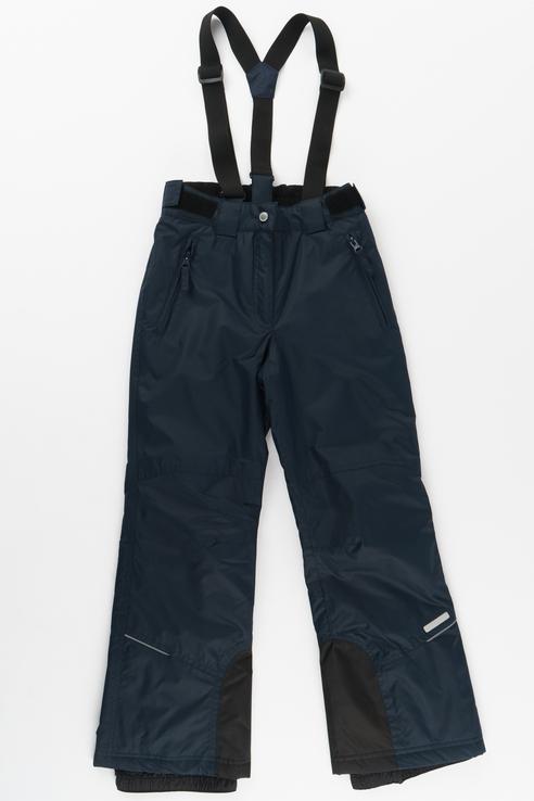 Купить 451005564IV, Брюки утепленные для девочки Icepeak, цв.синий, р-р 164, Полукомбинезоны и брюки для девочек