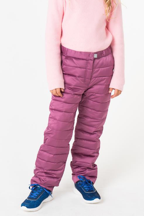 Купить 382008, Брюки утепленные для девочки PlayToday, цв.фиолетовый, р-р 104, Play Today,