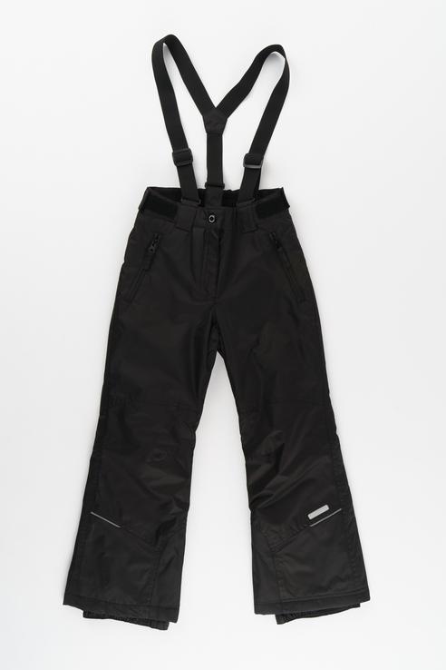 Купить 451005564IV, Брюки утепленные для девочки Icepeak, цв.чeрный, р-р 128, Полукомбинезоны и брюки для девочек