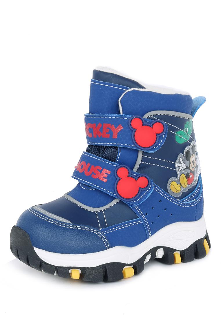 Ботинки детские Mickey Mouse, цв.синий р.22