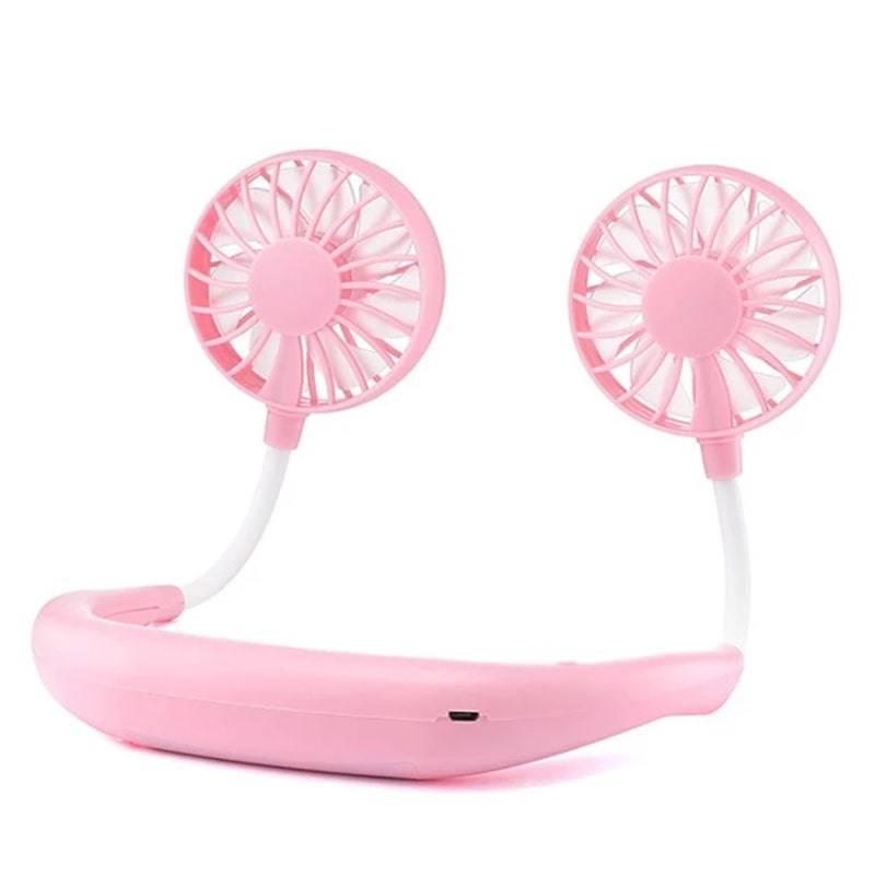 Вентилятор Mini fan Pink