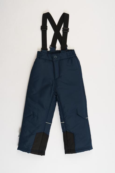 Купить 218BBUA64011000, Брюки утепленные для мальчика Button Blue, цв.синий, р-р 104,