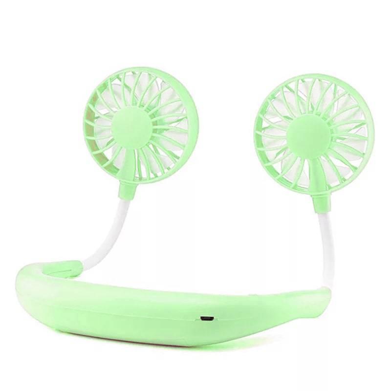 Вентилятор Mini fan Green